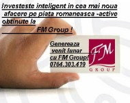 Afacere neconventionala cu FM Group