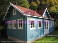 Casa de lemn Big Ben 7x5m