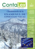 Contalex revista de contabilitate si legislatie  fiscalitate