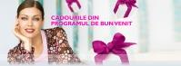 Inscriu reprezentanti Oriflame Cosmetics  cadouri la inscriere