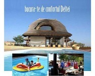 Pensiunea Aqua Villa  cazare de Lux in Delta Dunarii