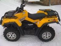 Vand   ATV Quad OUTLANDER 500 XT  Off Road Pickup