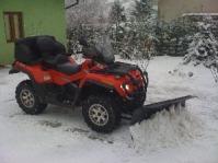 Vand   ATV Quad OUTLANDER MAX 800 XT  Off Road Pickup