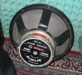 Vand super difuzor MAX woofer de 18   300w RMS 8ohms