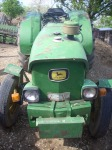 Vand tractor John Deere 1020